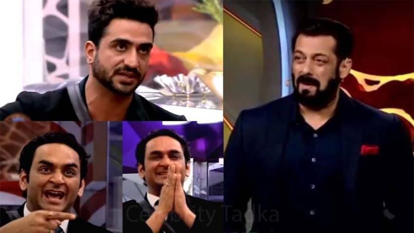 bigg boss 14 aly goni vikas gupta Salman Khan