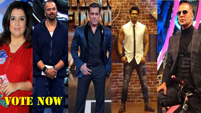 bigg boss 14 hosts SalmanKhan Farah khan sidharth Shukla Akshay kumar Rohit shettty