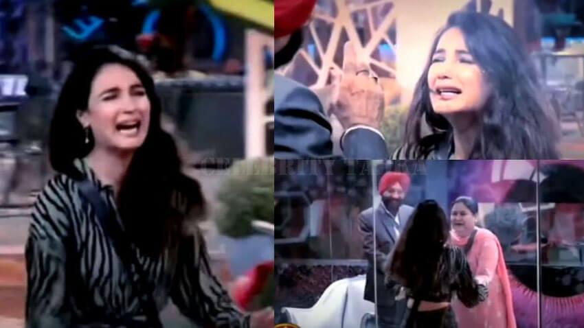 bigg boss 14 jasmin bhasin meets her parents
