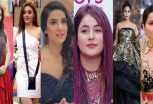bigg boss contestants hina khan rashami desai shehnaaz gill rubina dilaik