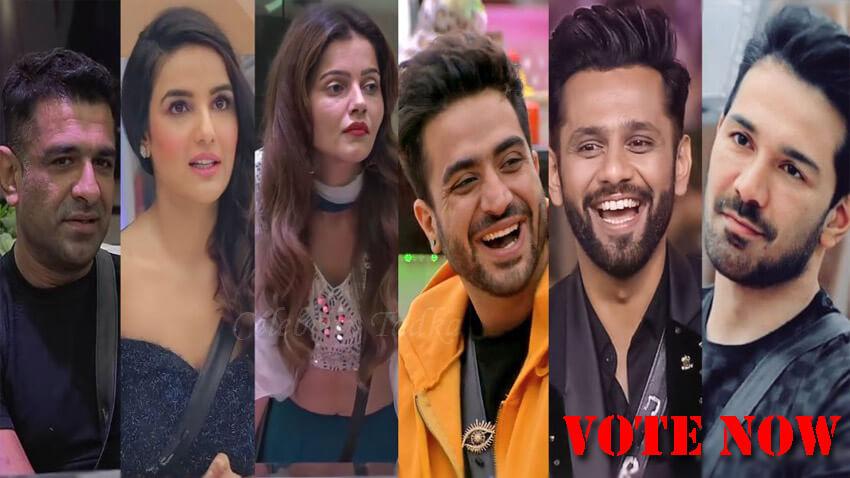 Bigg Boss 14 best contestant Rubina Dilaik Jasmin Bhasin Rahul Vaidya Eijaz Aly goni