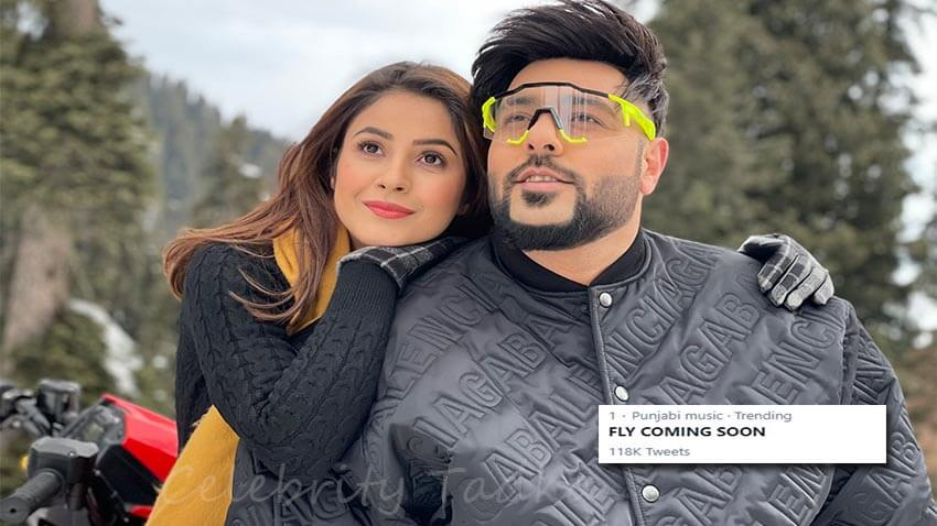 Shehnaaz Gill Badshah music video fly