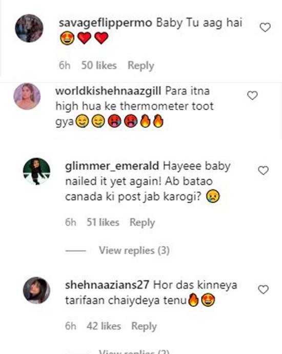 Shehnaaz gill Instagram