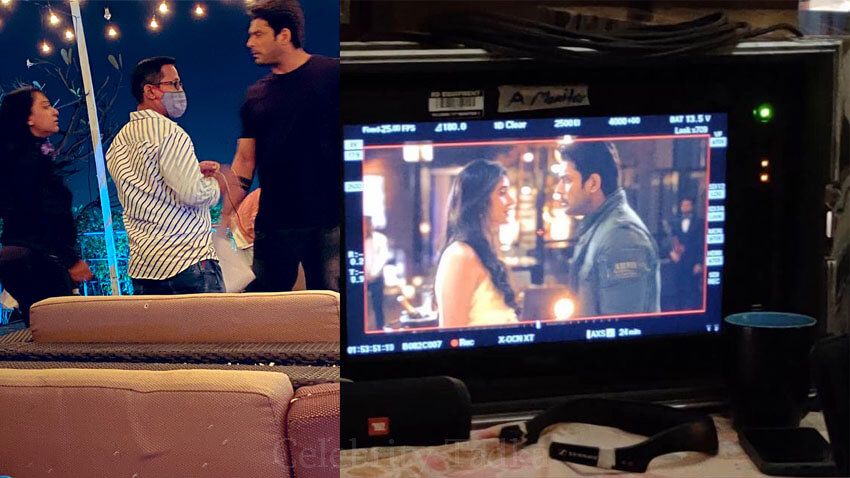 Sidharth Shukla Sonia Rathee BTS pictures broken but beautiful 3