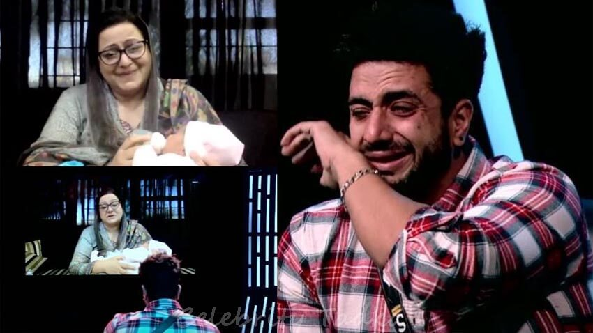 bigg boss 14 Aly Goni talks to his mother
