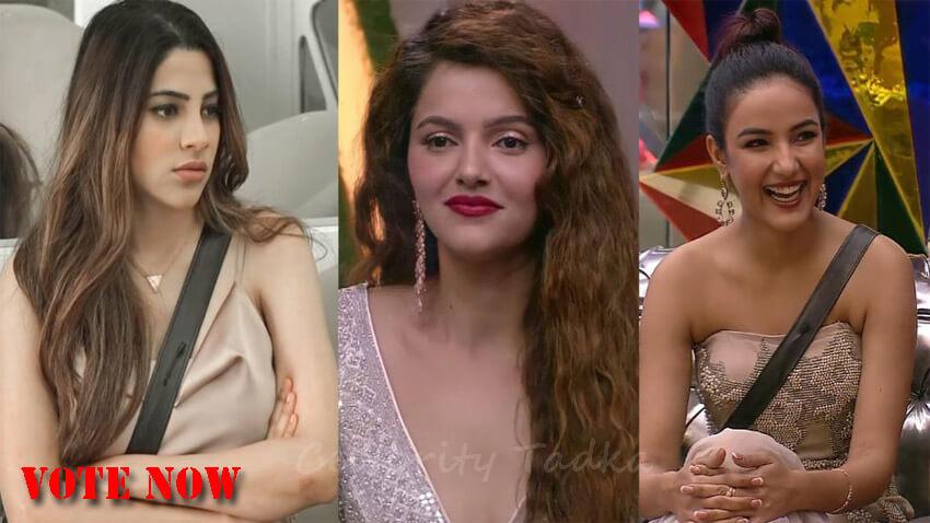 bigg boss 14 fashion diva Nikki Tamboli Rubina Dilaik Jasmin Bhasin