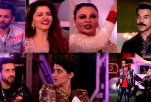 bigg boss 14 finale Rubina Dilaik rahul vaidya Aly Goni Rajkummar Rao Bharti singh