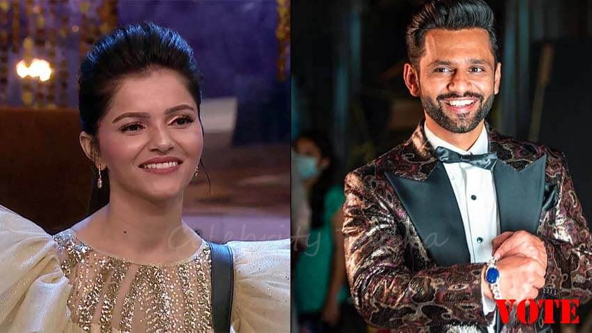 bigg boss 14 winner rubina dilaik and runner-up rahul vaidya