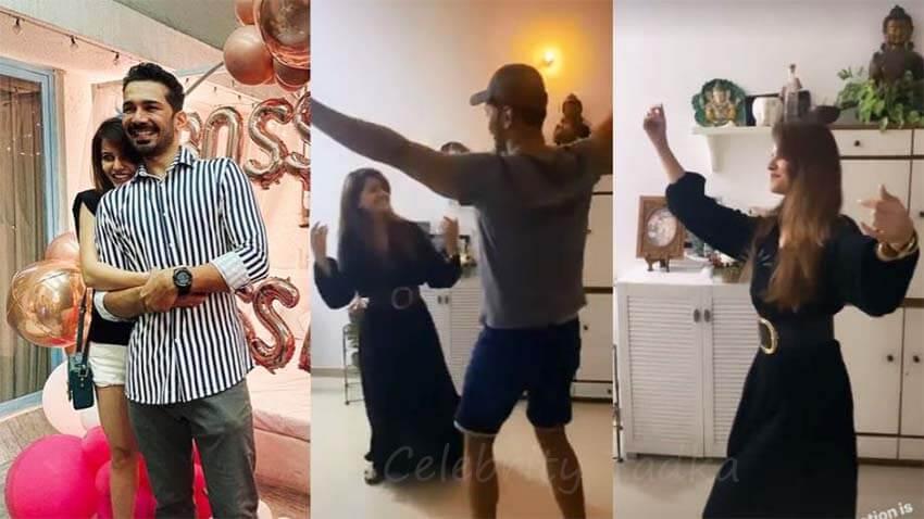 bigg boss 14 winner rubina dilaik performs nati dance with Abhinav shukla