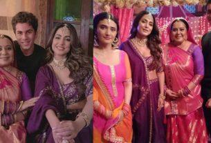 hina khan Ragini Khanna Neelu Vaghela in show Pandya Store