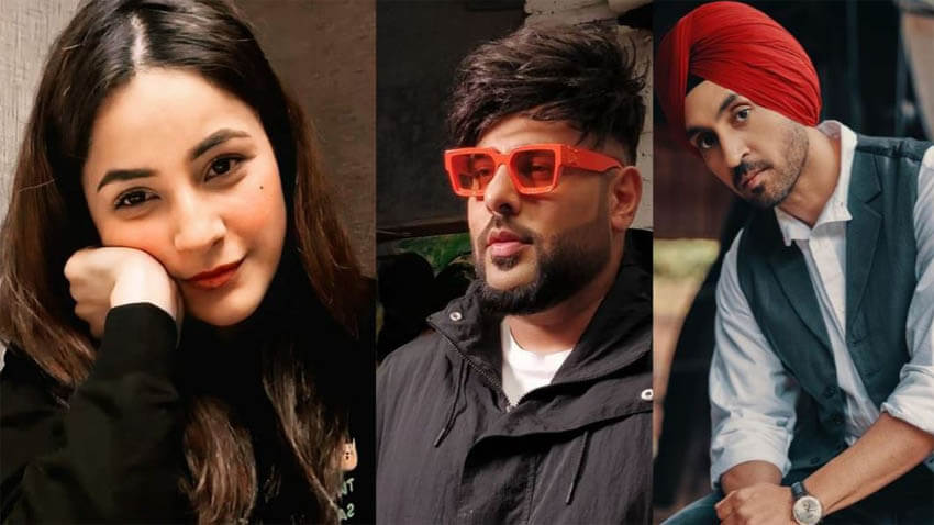 shehnaaz gill dream of working with Badshah and Diljit Dosanjh got fulfilled (1)