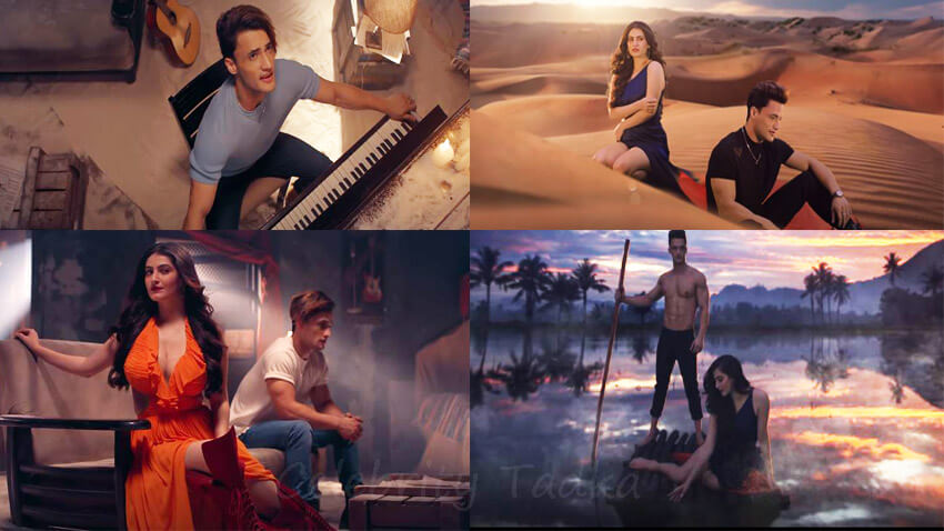 Asim Riaz Music video Saiyyonee with Shivaleeka Oberoi