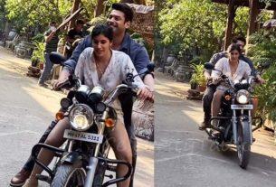 Broken But Beautiful 3 web series Sidharth Shukla teaches bike riding to Sonia Rathee