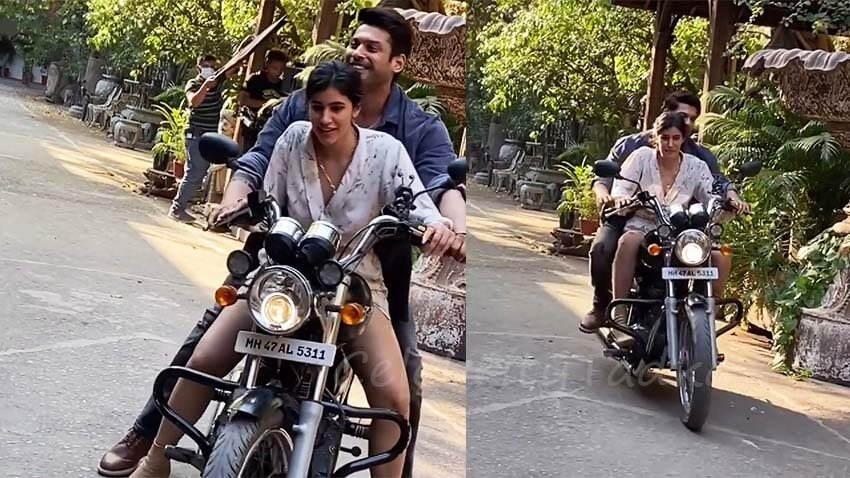 Broken But Beautiful 3 web series Sidharth Shukla teaches bike riding to Sonia Rathee