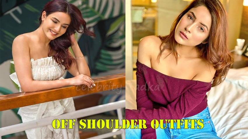 Jasmin bhasin Shehnaaz gill Off Shoulder Outfits polls