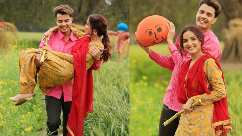 Jasmin bhasin music video with Gurnazar