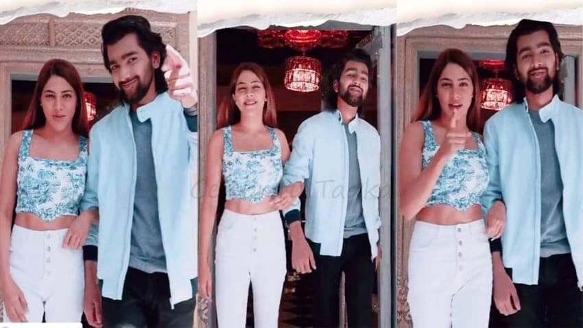 Nikki Tamboli music video with Arradhya Maan