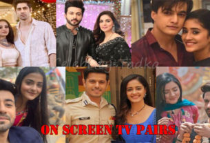 On screen television pairs