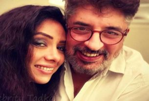 Rupali Ganguly with husband Ashwin Verma