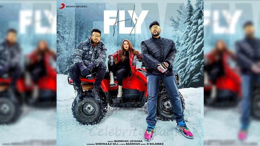 Shehnaaz Gill Badshah Uchana Amit music video Fly