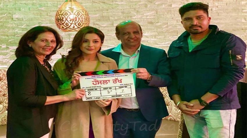 Shehnaaz gill Diljit Dosanjh film Honsla Rakh