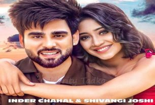 Shivangi Joshi music video 'Kismat Teri' Inder Chahal