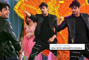 Sidharth Shukla dance performance at Colors Holi event