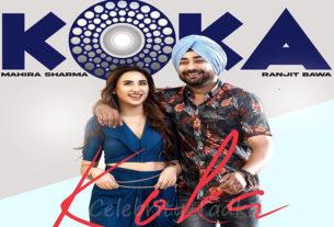 mahira sharma music video Koka with singer Ranjit Bawa