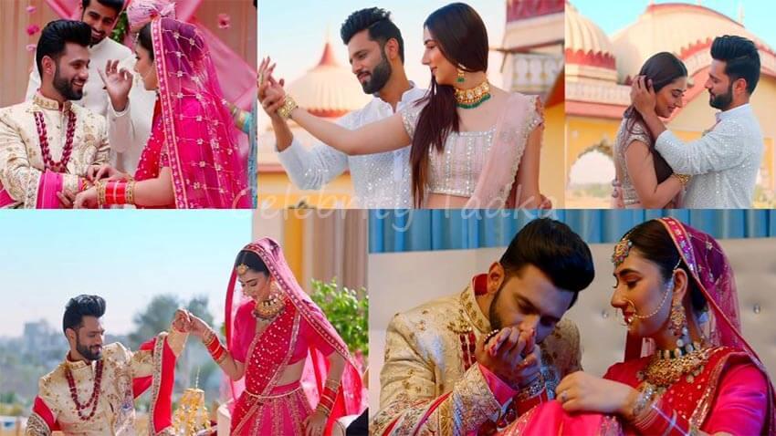 Rahul Vaidya Disha Parmar music video Madhanya