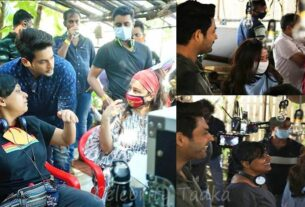 Sidharth shukla web series BTS pictures broken but beautiful 3