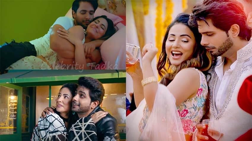Hina khan Tanmay Ssingh music video Patthar Wargi