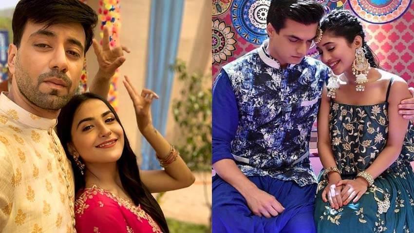 Karanvir Sharma-Debattama Saha, Shivangi Joshi-Mohsin Khan