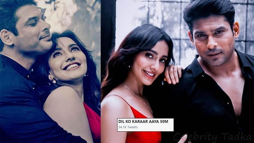 Sidharth Shukla Neha Sharma music video Dil ko karaar aaya