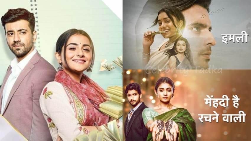 Star plus show Shaurya Aur Anokhi Ki Kahani, Mehndi Hai Rachne Waali, Imlie