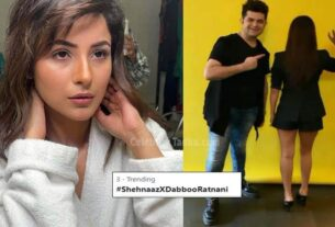 Shehnaaz Gill photoshoot with Dabboo Ratnani