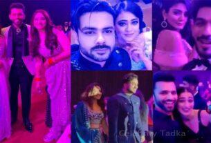 Rahul Vaidya Disha Parmar wedding reception