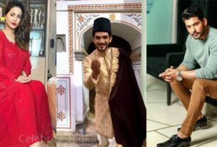 Sidharth Shukla, Hina Khan, Arjun Bijlani Extends Eid greetings to fans