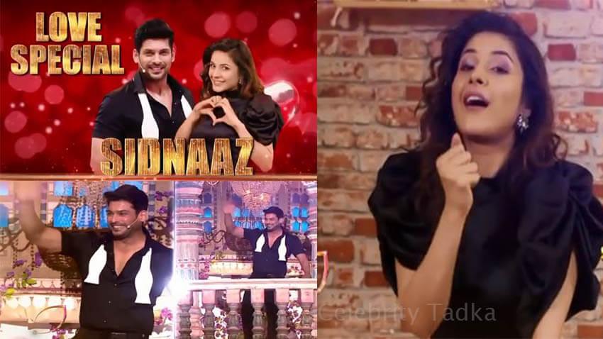 Sidharth Shukla Shehnaaz Gill on Dance Deewane