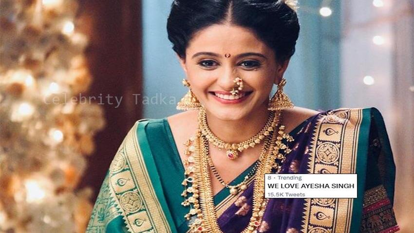 Ayesha Singh of Star Plus show Ghum Hai Kisikey Pyaar Meiin