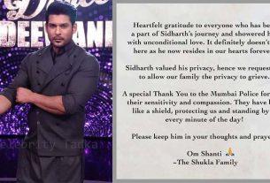 Sidharth Shukla