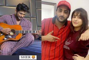 Sidharth Shukla Shehbaz Badesha Shehnaaz