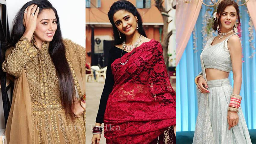 Rupali Ganguly Aka Anupama, Priyanka Choudhary Tejo, Ayesha Singh Aka Sai