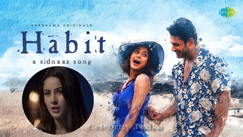 Sidharth Shukla Shehnaaz Gill music video Habit